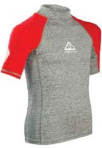 Adrenalin Junior S/S Beach Rash Shirt Red