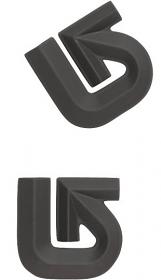 Burton Alum Logo Mat Black