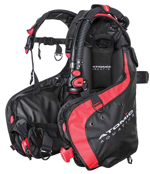 Atomic Aquatics BC1 BCD Black Red
