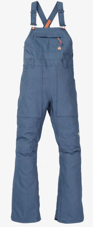 Burton Avalon Bib Denim 2020