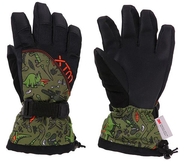 XTM Zoom Kids Gloves Dino