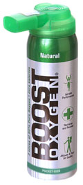 Boost Oxygen Natural Pocket 4oz