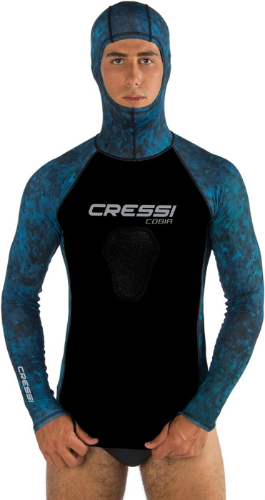 Cressi Cobia Hooded L/S Rash Shirt