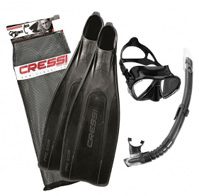 Cressi Pro Star Fin Package