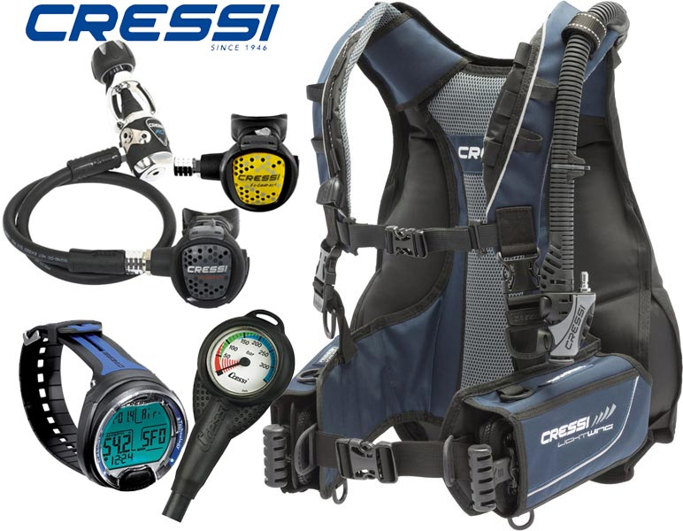 Cressi Lightwing BCD/XS Compact Package