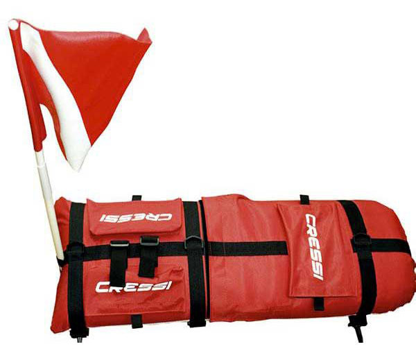 Cressi Spyder Surface Buoy Float & Flag