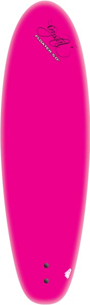 Crystal Floater Pink 5'0""