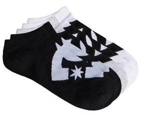 DC Ankle Socks 5 pack Assorted