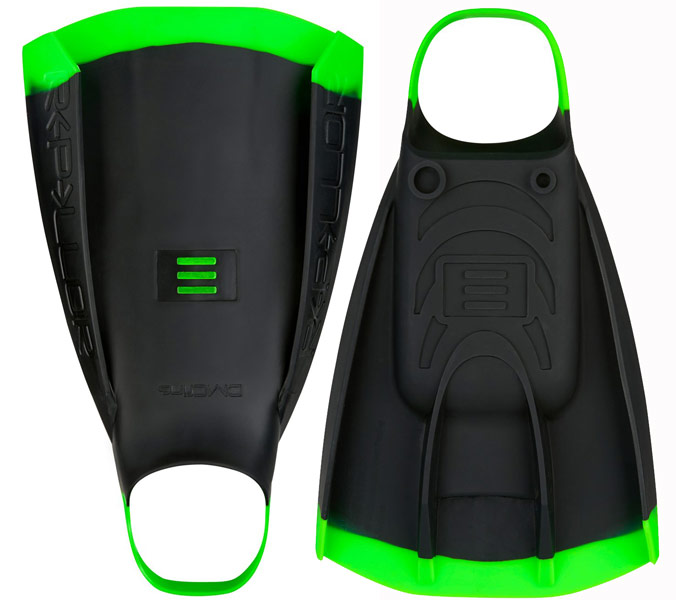 DMC Repellor Swim Fins Black