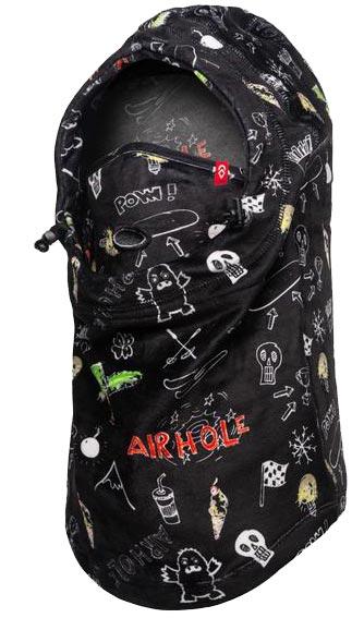 Airhole Airhood Milk Fleece JR Doodle