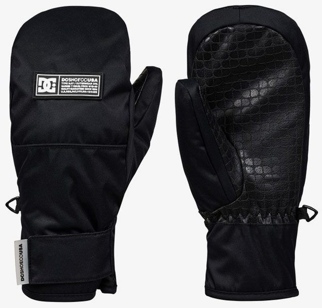 DC Franchise Mitts JR Black