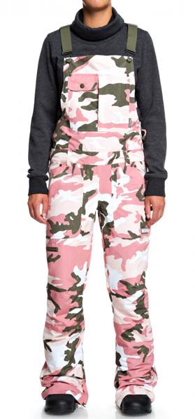 DC Collective Dusty Pink Camo Bib