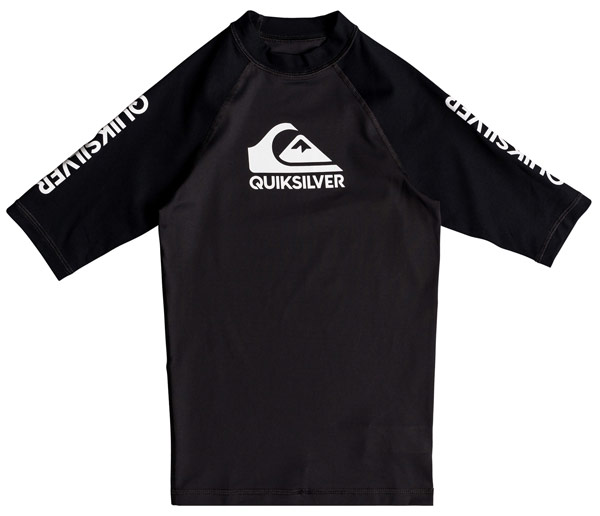 Quiksilver Youth On Tour S/S Black