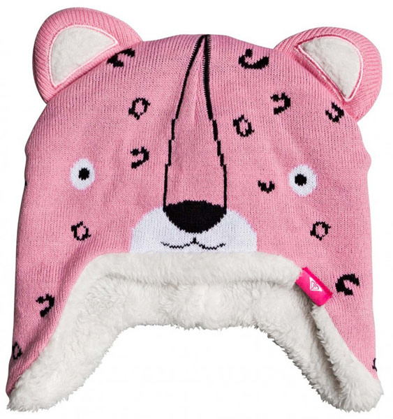 Roxy Leopard Teenie Beanie Girls