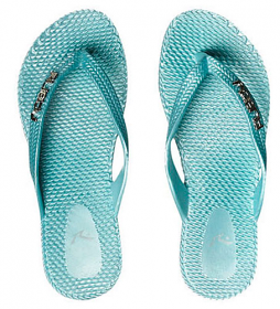 Rusty Girls Flippin Thongs - Blue