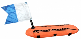 Ocean Hunter Float with Line & Flag