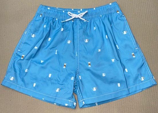 Freeworld Mens Short Leg Printed Shorts