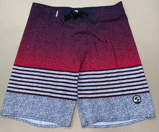 Freeworld Mens 4 way Stretch Shorts Red