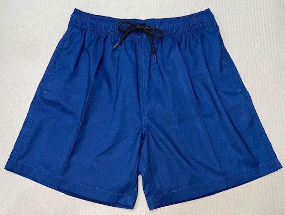 "Freeworld Mens Elastic Shorts 17"" Navy"