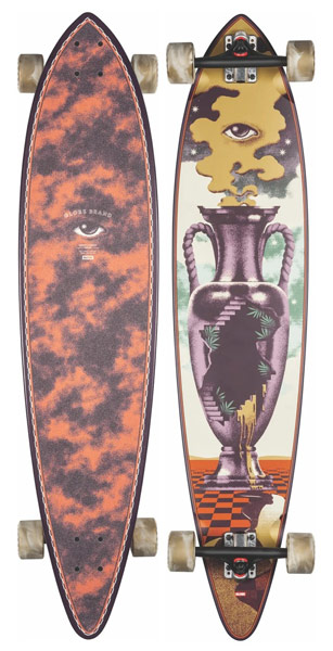 """Globe Pintail The Outpost 44"""" Longboard"""