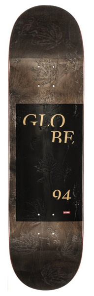 "Globe G2 Typhoon Black 8.5"""