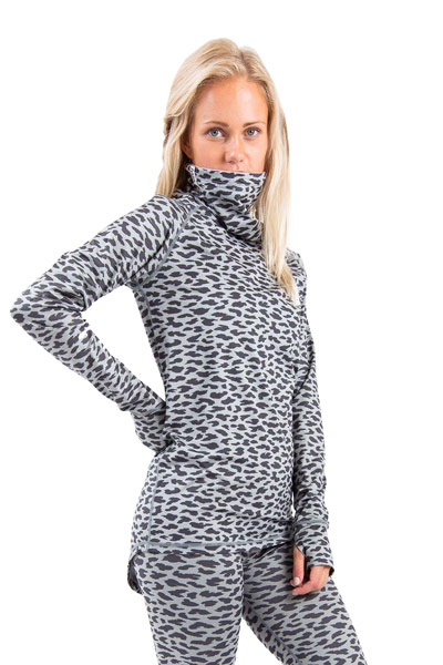 Eivy Icecold Top Grey Leopard