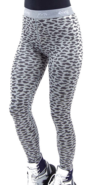 Eivy Icecold Pants Grey Leopard