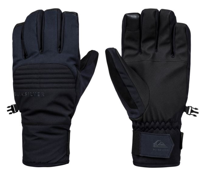 Quiksilver Hill Goretex Gloves Black
