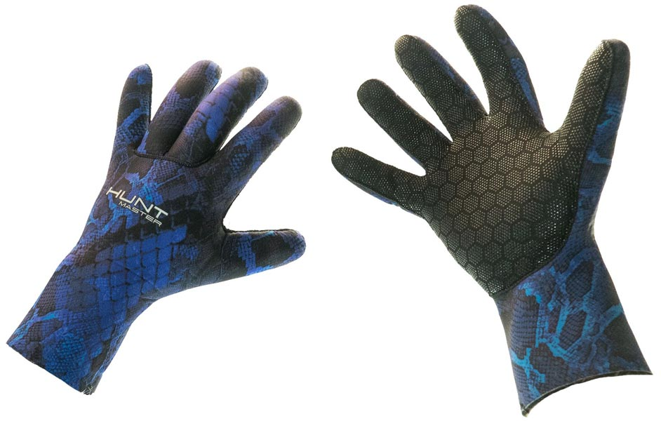 Huntmaster Neo Gloves 3.5mm Blue