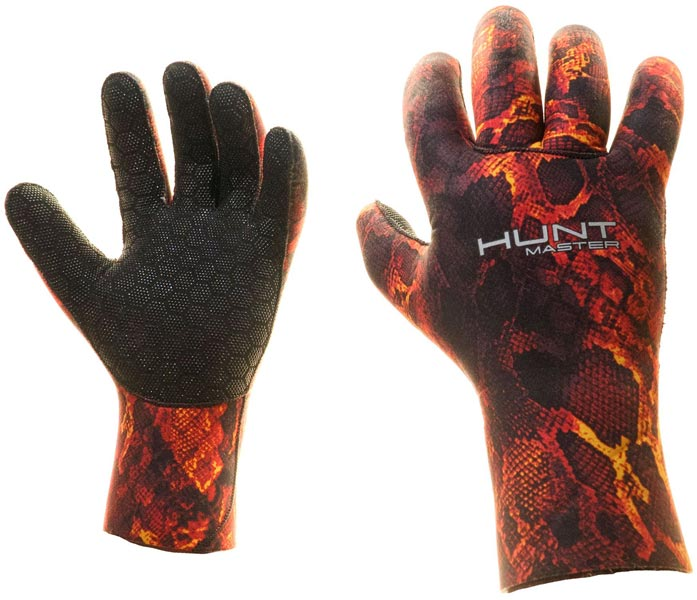 Huntmaster Neo Gloves 3.5mm Red