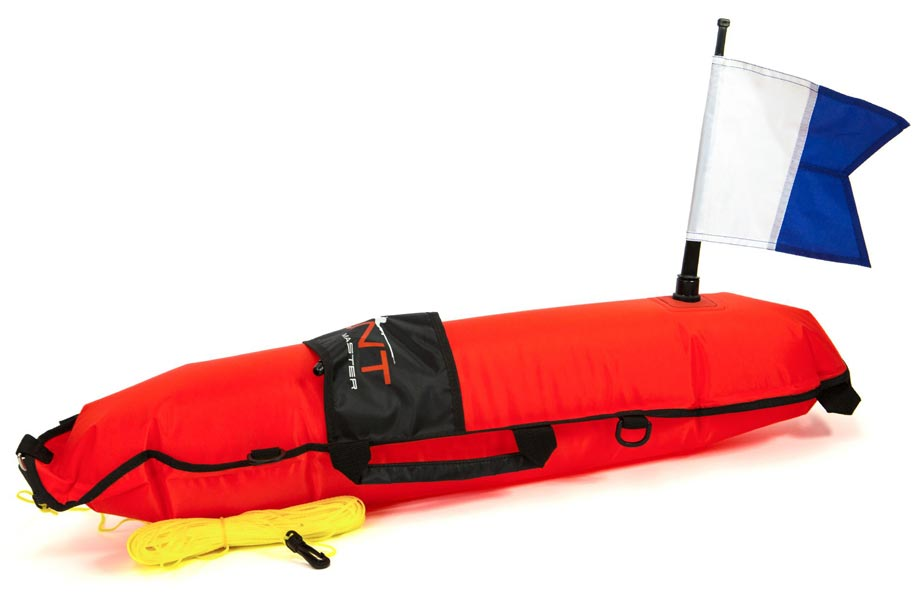 Huntmaster Scout Inflatable Float Red