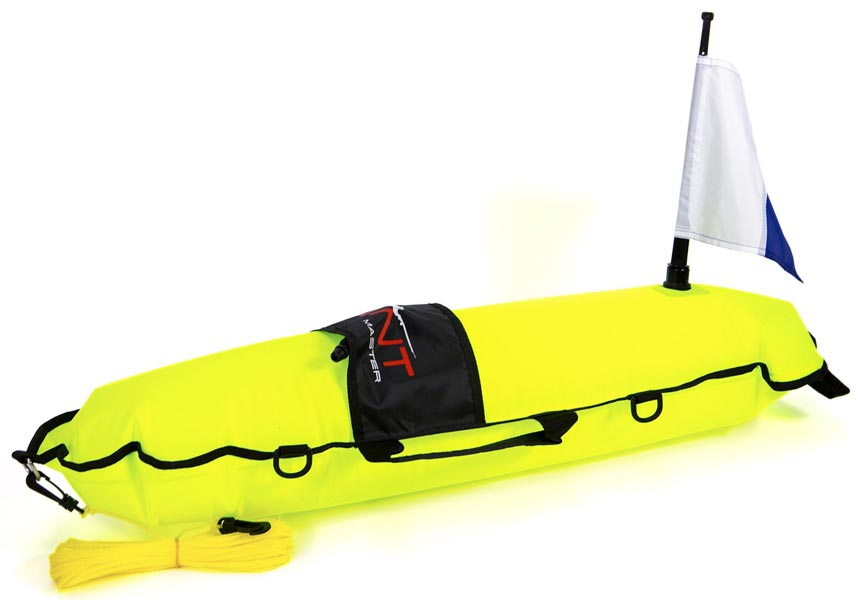 Huntmaster Scout Inflatable Float Yellow