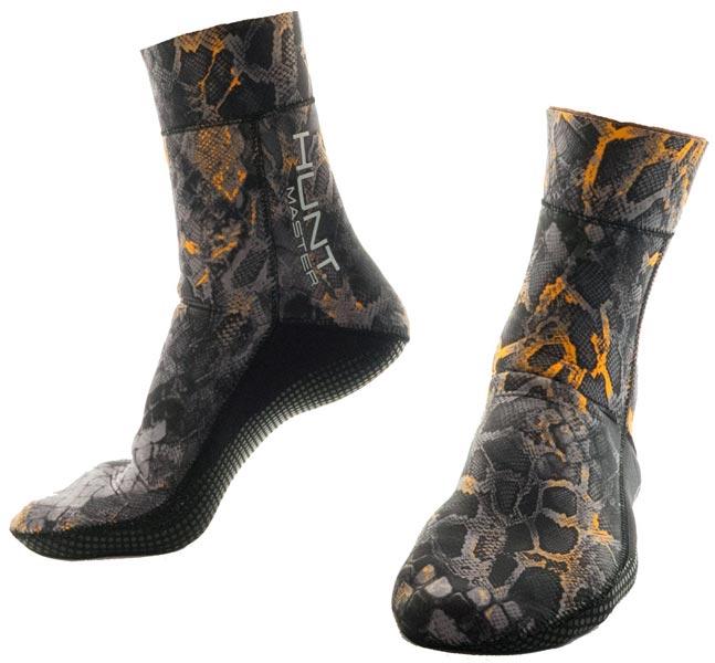 Huntmaster 3.5mm Fin Sock Blaze
