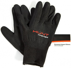 Huntmaster Tuff Gloves Black