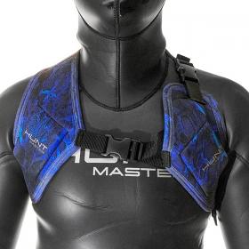 Huntmaster Weight Vest Harness Blue
