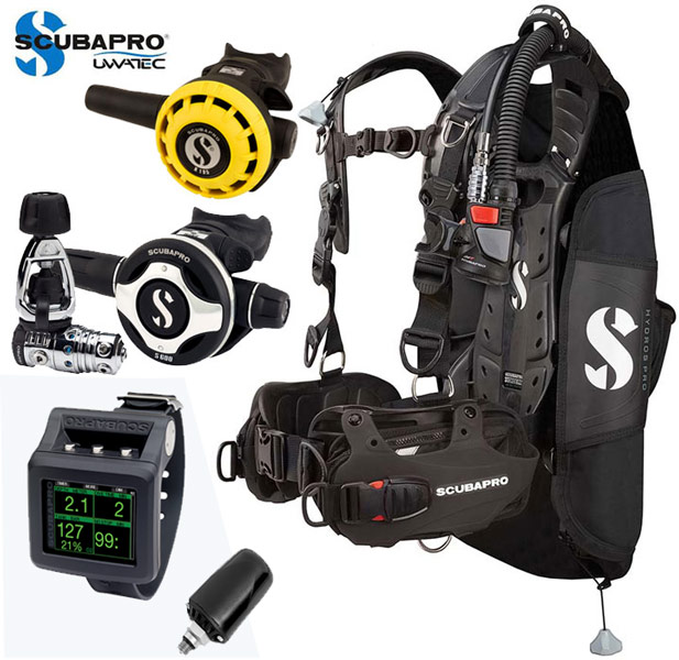 Scubapro Hydros Mens/G2 Package