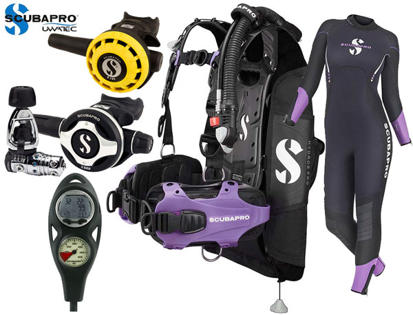 Scubapro Hydros Ladies Package