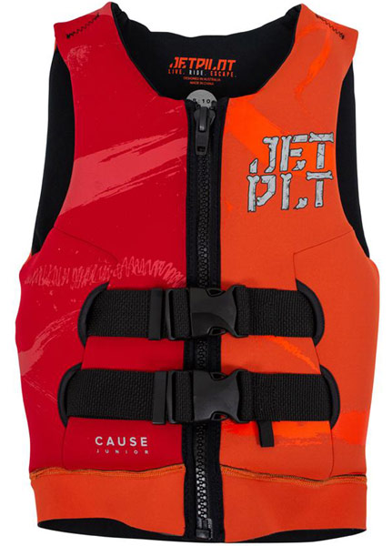 Jetpilot Kids The Cause L50 Orange/Red