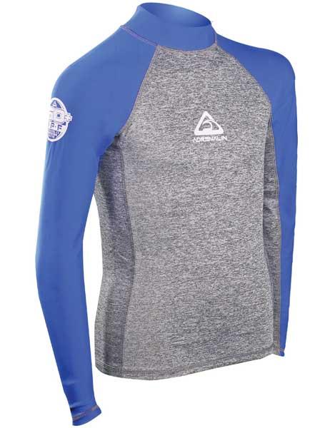 Adrenalin Junior L/S Beach Rash Shirt Blue