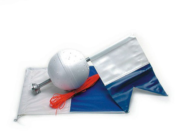 Land & Sea Weighted Float and Flag