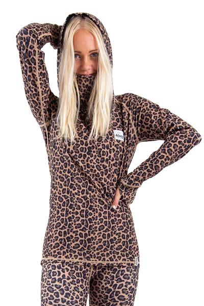 Eivy Icecold Ziphood Top Leopard