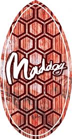 """Maddog Wedge Hex 41"""" Skimboard"""