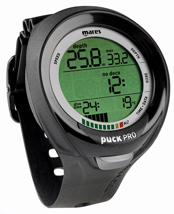 Mares Puck Pro + Wrist Computer