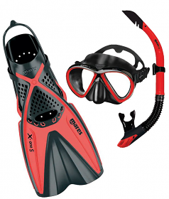 Mares X One Fin Set Red
