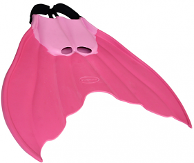 Mirage Mermaid Rubber Swim Fin Pink
