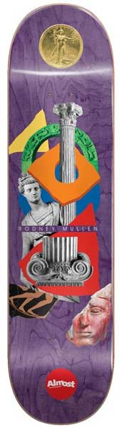 """Almost Relics Mullen Purple 8.25"""""""