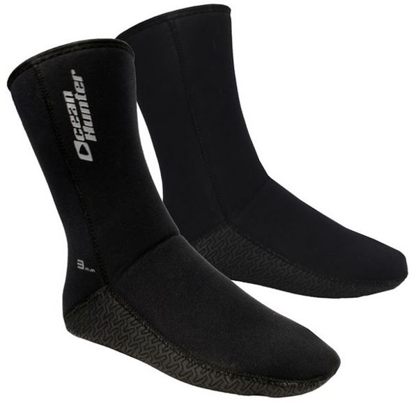 Ocean Hunter 3mm Plush Fin Sox