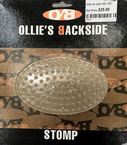 Ollies Backside Oval Stomp Pad