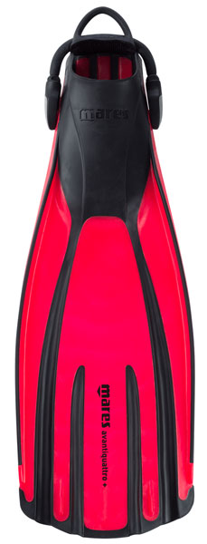Mares Avanti Quattro Plus Red