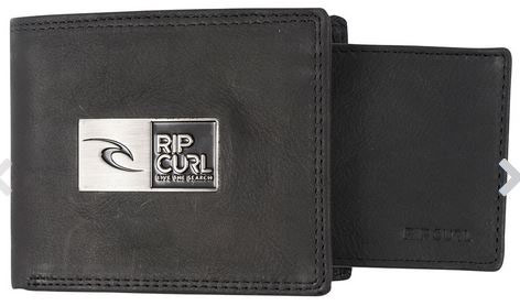 Rip Curl Stackawatu Leather Wallet Black